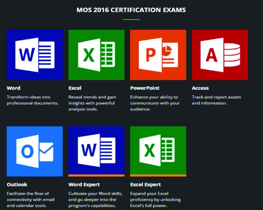 Chứng chỉ tin học quốc tế MOS